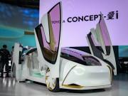 Ngắm xe công nghệ tối tân Toyota Concept-i