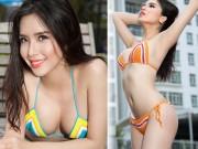 Á hậu Việt có vòng ba 1 mét: Bikini là phần tôi tự tin nhất