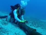 Cáp quang biển quốc tế AAG bị dò nguồn cách trạm cập bờ Vũng Tàu 35,89 km