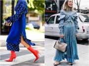 Mùa lạnh: Thời điểm hoàn hảo để diện váy dài