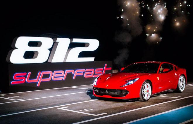 Siêu xe Ferrari 812 Superfast đến Thái Lan - 1