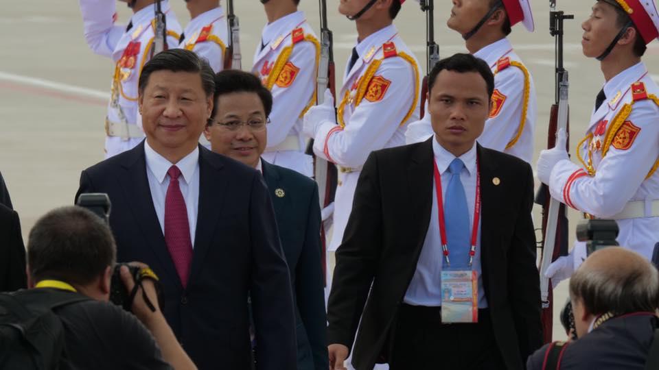 CẬP NHẬT: Chủ tịch Trung Quốc Tập Cận Bình đăng đàn APEC 2017 - 6