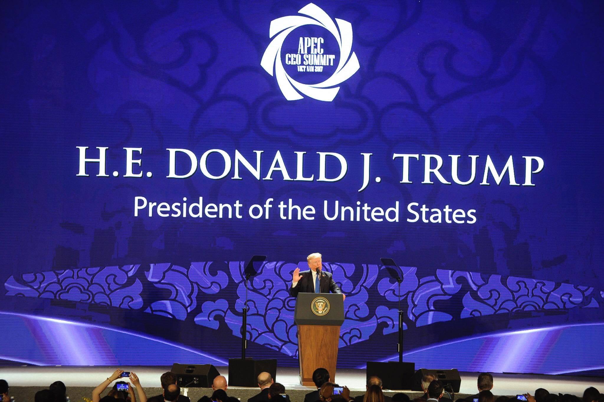 CẬP NHẬT: Chủ tịch Trung Quốc Tập Cận Bình đăng đàn APEC 2017 - 3