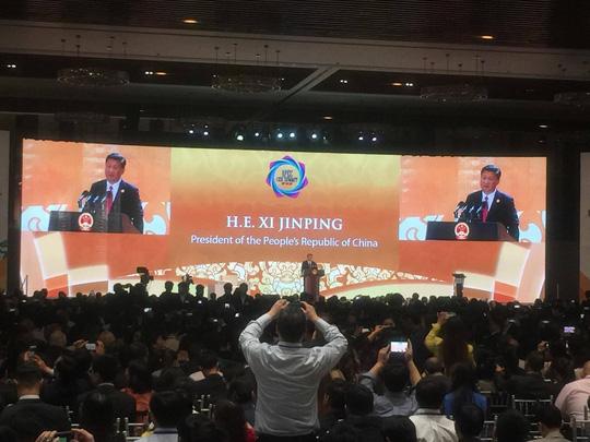 CẬP NHẬT: Chủ tịch Trung Quốc Tập Cận Bình đăng đàn APEC 2017 - 1