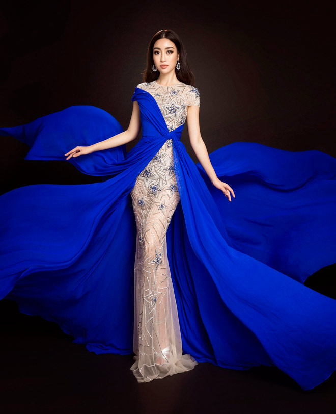 Hoa hậu Mỹ Linh lần đầu mặc xẻ cao đến thế ở Hoa hậu Thế giới - 8