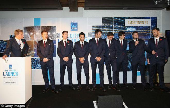 ATP Finals: Federer - Nadal lịch lãm dự tiệc, hẹn quyết đấu chung kết 8