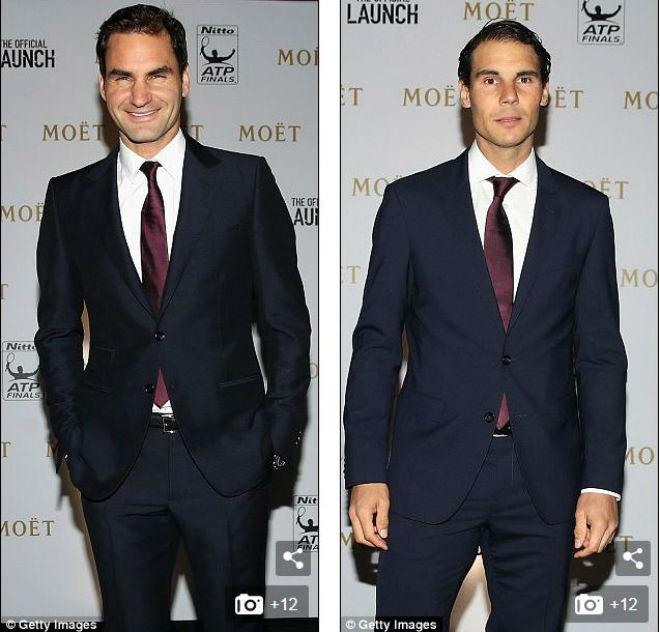 ATP Finals: Federer - Nadal lịch lãm dự tiệc, hẹn quyết đấu chung kết 2