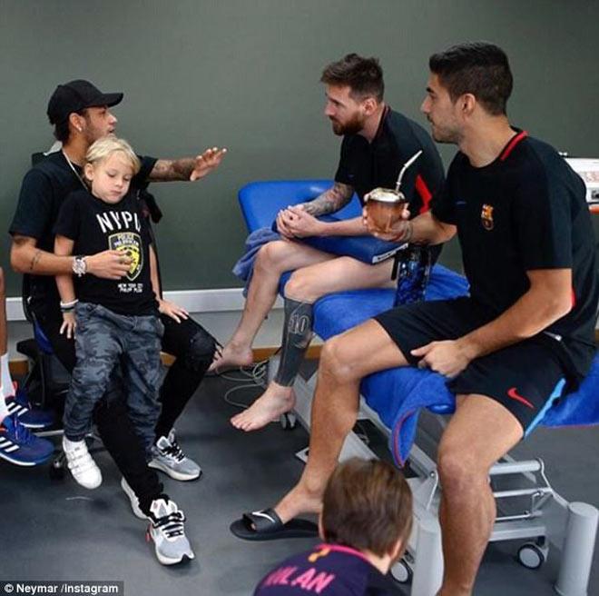 Neymar hối hận muốn trở lại Barca: Cầu cứu Messi và Suarez 2