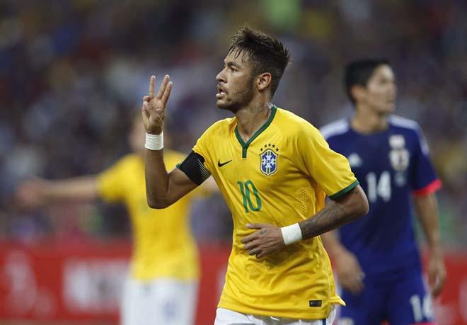 Brazil - Nhật Bản: Siêu sao Neymar & 2 quả penalty ngang trái