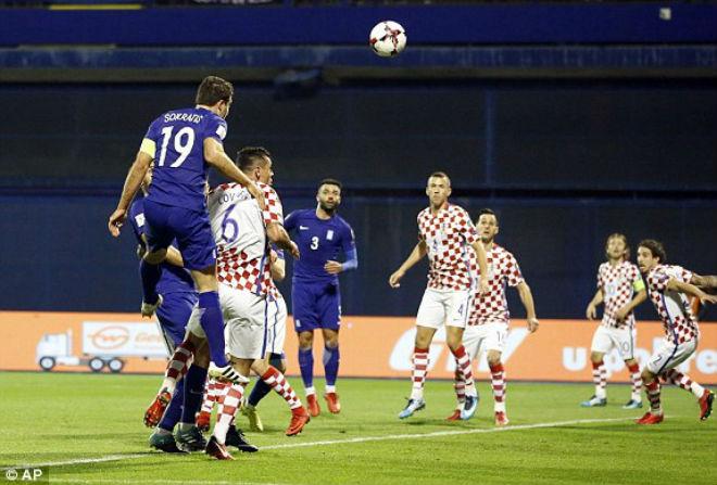 Croatia - Hy Lạp: SAO bự tỏa sáng, tưng bừng 5 bàn (play-off World Cup 2018)