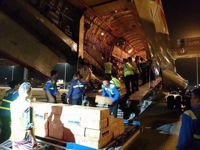 Đề nghị phân phối khẩn 40 tấn hàng do Nga viện trợ