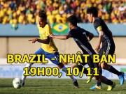 Brazil - Nhật Bản: Hung thần Neymar  &  sự thật của chiêu trò giả đau