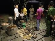 An ninh Xã hội - Nổ súng bắt nhóm người nấu cao hổ