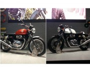 Royal Enfield Interceptor INT 650 và Continental GT 650 ra mắt