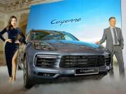 Cận cảnh Porsche Cayenne S 2018 giá 5,47 tỷ đồng