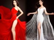 Hé lộ váy dạ hội lộng lẫy của Mỹ Linh ở Hoa hậu Thế giới