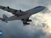 Thế giới - Video: Xem chi tiết siêu chuyên cơ Không Lực Một của ông Trump