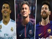 Bóng đá - Xuất sắc nhất 2017: Ronaldo số 1, Messi chỉ… số 9