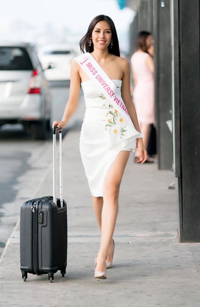 Nguyễn Thị Loan mặc trễ nải đi Mỹ thi hoa hậu Hoàn vũ - 2