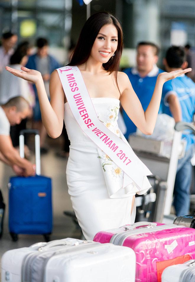 Nguyễn Thị Loan mặc trễ nải đi Mỹ thi hoa hậu Hoàn vũ - 6