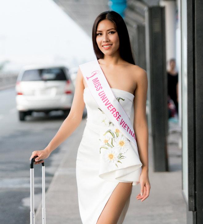 Nguyễn Thị Loan mặc trễ nải đi Mỹ thi hoa hậu Hoàn vũ - 3
