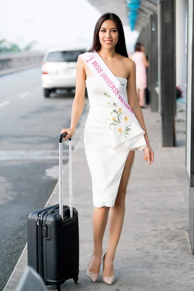 Nguyễn Thị Loan mặc trễ nải đi Mỹ thi hoa hậu Hoàn vũ - 9