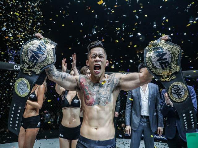 """Knock-out tuyệt đỉnh: Võ sỹ gốc Việt """"náo loạn"""" võ đài MMA số 1 châu Á 1"""