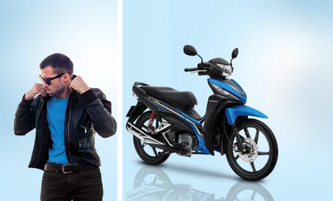 Cận cảnh Honda Wave 110 RSX màu mới, giá 21,49 triệu đồng