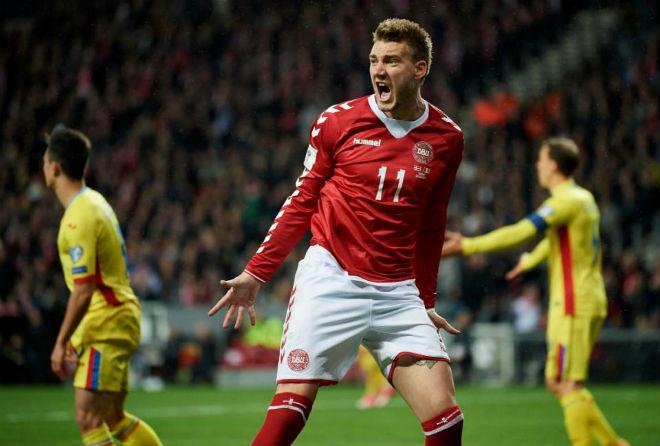 """Đan Mạch - CH Ai-Len: Chờ """"lính chì"""" Bendtner phá dớp 15 năm (play-off World Cup 2018) - 1"""