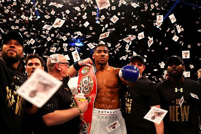 """""""Quái thú"""" boxing đấu """"Vua"""" Joshua: 59 trận, 58 cú knock-out 1"""