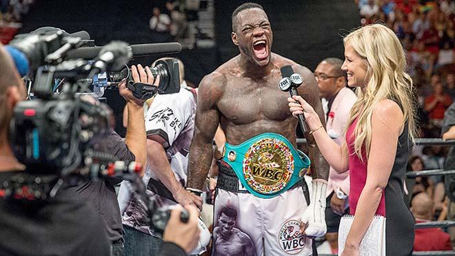 """""""Quái thú"""" boxing đấu """"Vua"""" Joshua: 59 trận, 58 cú knock-out 2"""