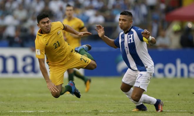 """Honduras - Australia: Siêu căng thẳng, """"người nhện"""" hóa thánh (play-off World Cup 2018) - 1"""