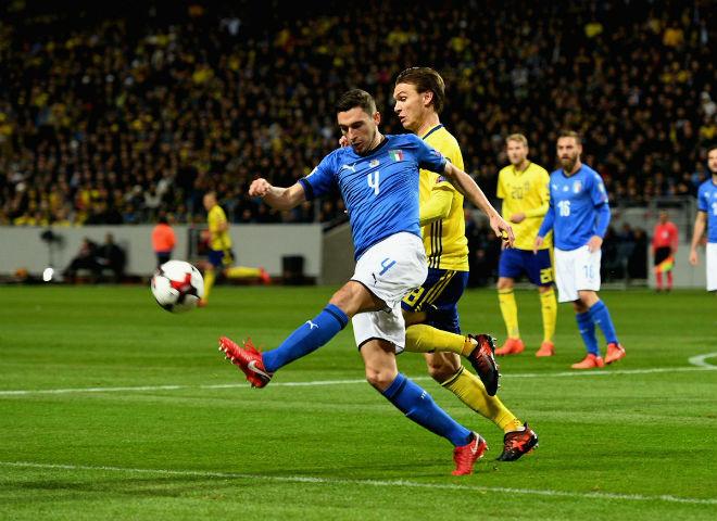 Thụy Điển - Italia: Đòn kết liễu lạnh lùng (play-off World Cup 2018)