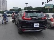 Tin tức ô tô - Bắt gặp Honda CR-V 2017 ở Hà Nội trước ngày ra mắt
