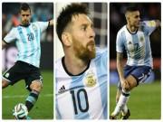 Nga - Argentina: Mơ bộ ba hủy diệt Messi - Aguero - Icardi