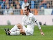 """Real  """" hớ thế kỷ """"  với Bale: 24 chấn thương, tốn 30 tỷ đồng/trận"""