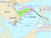 Bão số 13 nguy cơ  chết yểu , hướng vào Quảng Trị đến Thừa Thiên Huế