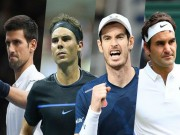 Thể thao - Tin thể thao HOT 11/11: Federer, Nadal thống trị vì Murray, Djokovic chấn thương