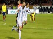 """Nga - Argentina: Messi lạc lối,  """" siêu nhân """"  thăng hoa phút cuối"""