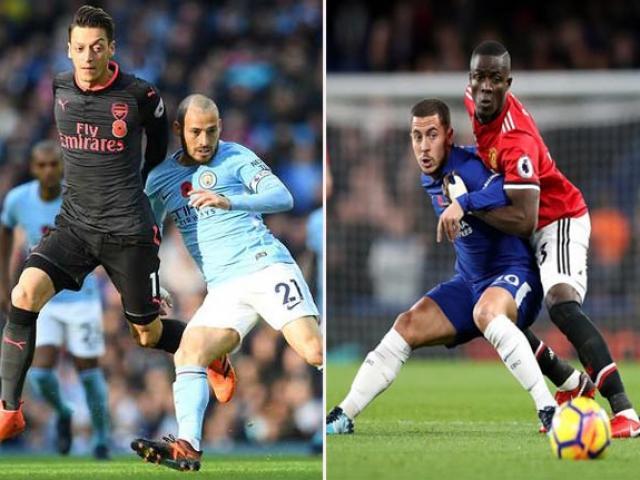 """Man City - Pep """"vô đối"""": Wenger cười khẩy, Mourinho tuyên bố lật ngôi 2"""