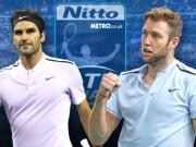"""Thể thao - ATP Finals ngày 1: Federer xuất trận, dễ thở trước """"lính mới"""""""