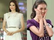 """"""" Lật tẩy """"  trình Anh ngữ thật của người đẹp Hoa hậu Hoàn vũ VN"""