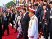 Chủ tịch Tập Cận Bình dự lễ khánh thành Cung hữu nghị Việt - Trung