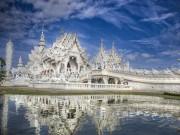 Du lịch - Khám phá ngôi đền trắng kỳ dị ở Thái Lan