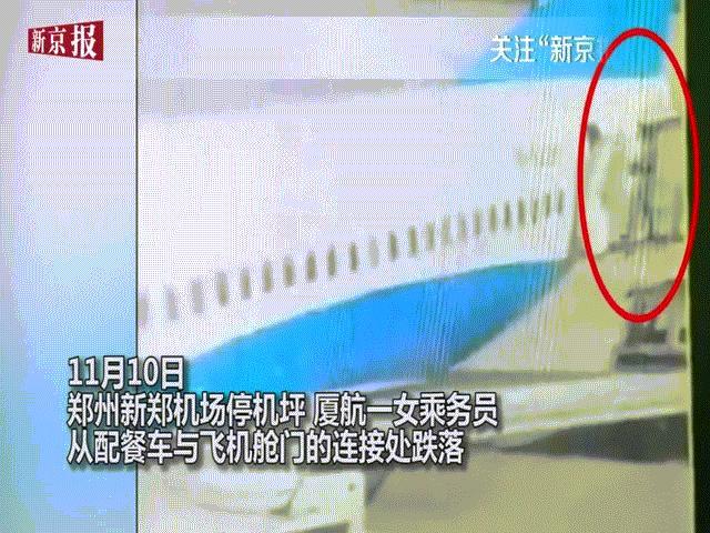 Đang làm việc, nữ tiếp viên hàng không ngã khỏi cửa máy bay