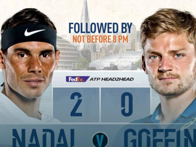 """Bảng xếp hạng tennis 13/11: Nadal """"kê cao gối"""" xem Federer rượt đuổi 2"""