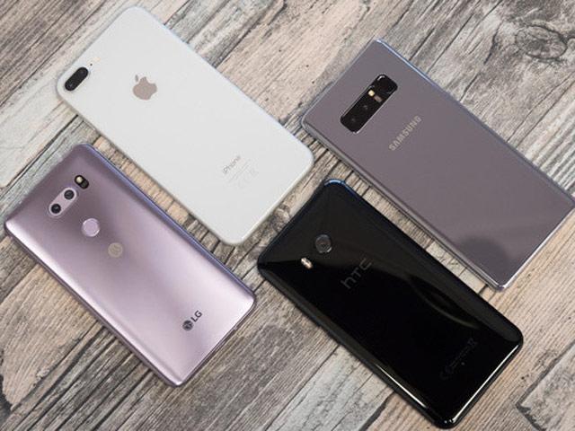 Đọ camera bộ tứ LG V30, iPhone 8 Plus, Galaxy Note 8 và HTC U11