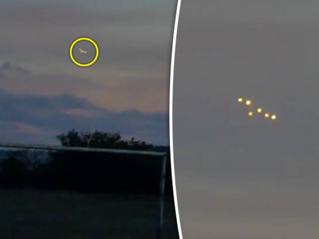 UFO bất ngờ lơ lửng ngay trên căn cứ quân sự Mỹ - 2