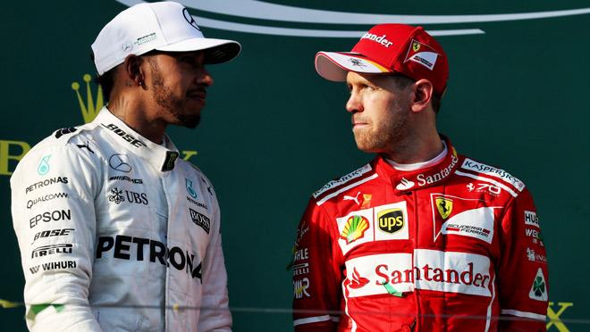 """Bảng xếp hạng đua xe F1 - Brazilian GP: Vettel """"lên đỉnh"""", Hamilton vẫn trăn trở 1"""