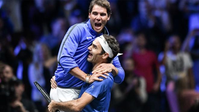 """Bảng xếp hạng tennis 13/11: Nadal """"kê cao gối"""" xem Federer rượt đuổi 1"""